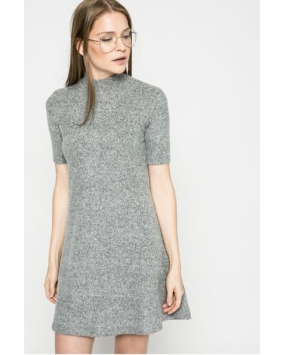 Платье мини из вискозы однотонное Kiss My Dress