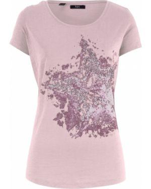 Футбольная розовая футболка Bonprix