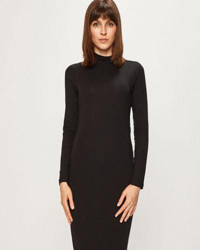 Платье миди однотонное с декольте Jacqueline De Yong