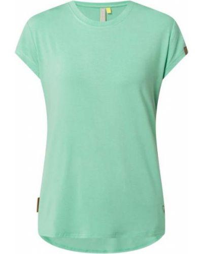 T-shirt z wiskozy - zielona Alife And Kickin