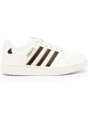 Czarny top koronkowy sznurowany Adidas