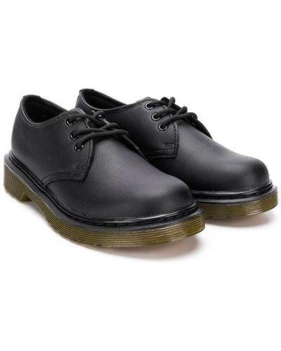 Туфли классические черные Dr. Martens Kids