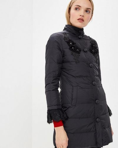 Зимняя куртка осенняя черная Blugirl Folies