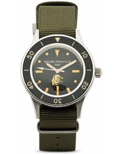 Зеленые нейлоновые часы Maharishi