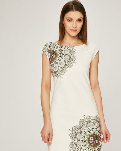 Платье мини облегающее однотонное Desigual