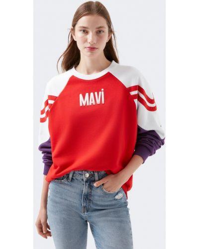 Красная свитшот Mavi