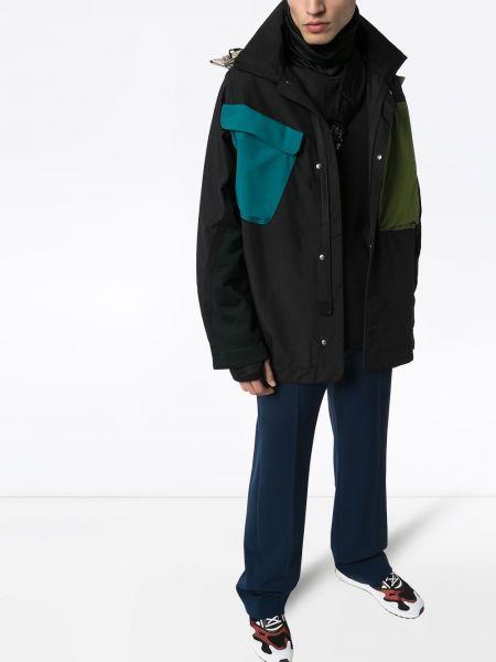 Черная куртка с капюшоном на молнии с воротником двусторонняя Byborre