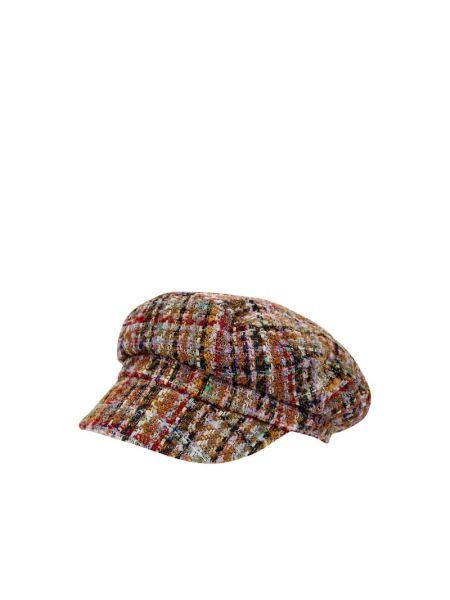 Brązowy kapelusz wełniany Loevenich