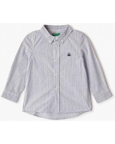 Рубашка белая United Colors Of Benetton
