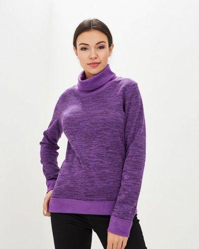 Фиолетовый спортивный лонгслив Modis