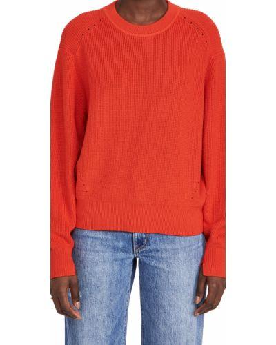 Prążkowany z kaszmiru długi sweter z długimi rękawami Rag & Bone