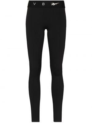 Спортивные леггинсы - черные Reebok X Victoria Beckham