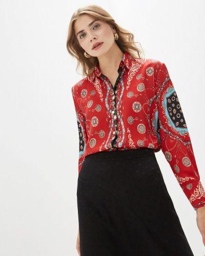 Блузка с длинным рукавом красная By Swan