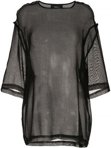Блузка прямая спущенная Yang Li
