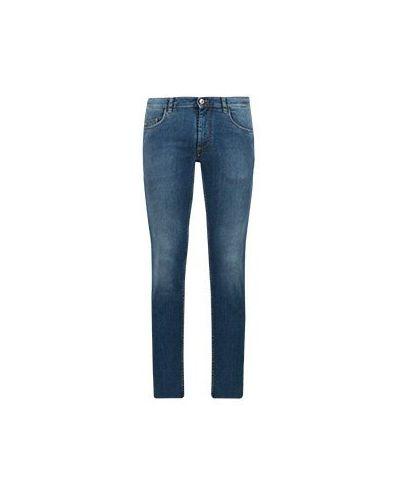 Повседневные черные прямые джинсы Harmont&blaine