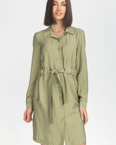 Платье - зеленое Gloss