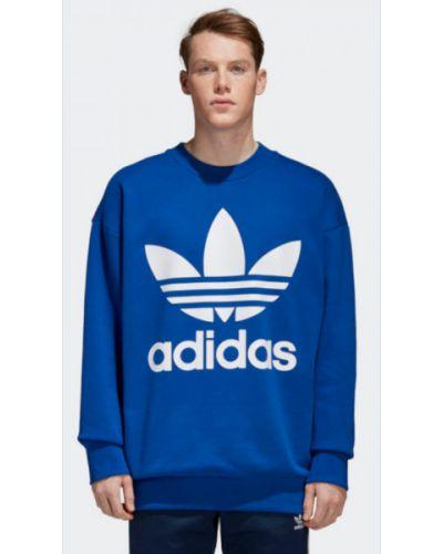 Bluza bawełniana oversize Adidas
