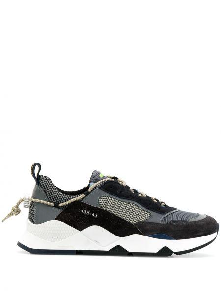 Замшевые кроссовки - синие Brimarts