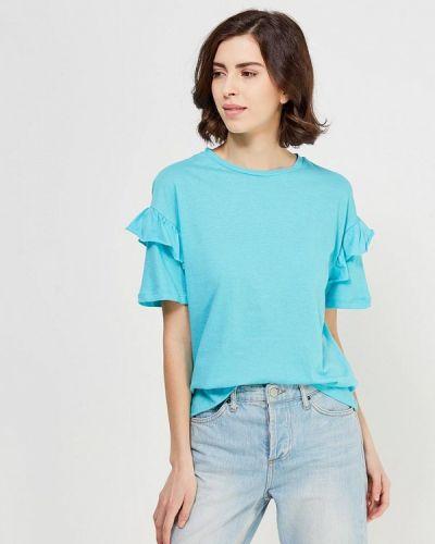 Голубая футболка твое