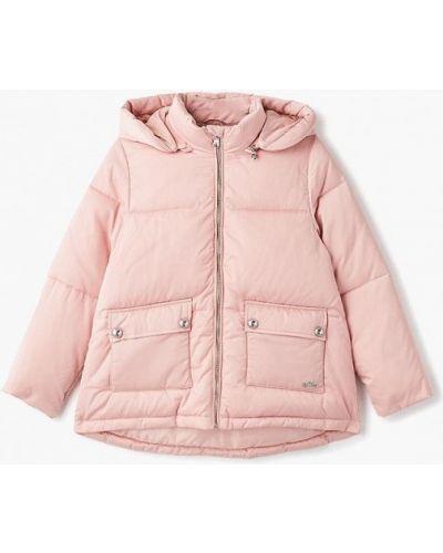 Розовая куртка теплая Emporio Armani