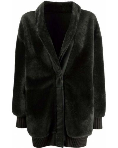 Зеленая длинная куртка Simonetta Ravizza