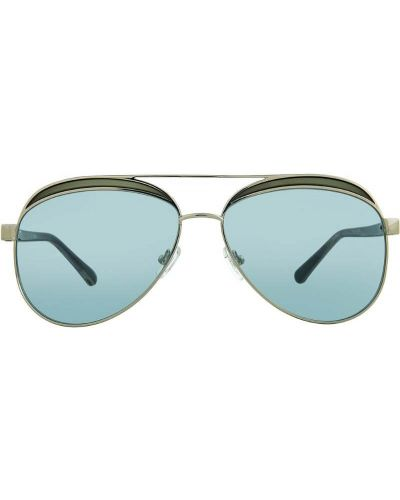 Очки авиаторы солнцезащитные синий N21