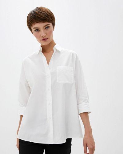 Блузка с длинным рукавом белая Weekend Max Mara