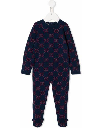 Piżama długo z długimi rękawami Gucci Kids