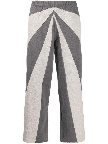 Спортивные брюки укороченные серые Mm6 Maison Margiela