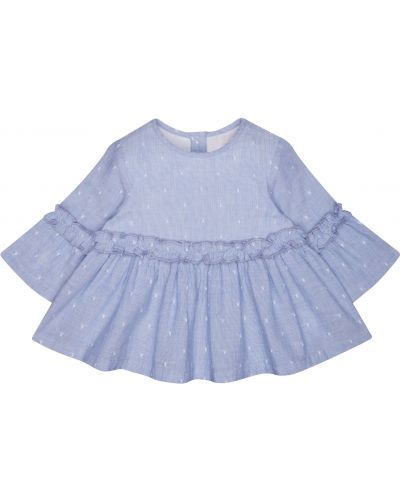 Блуза голубой Mothercare