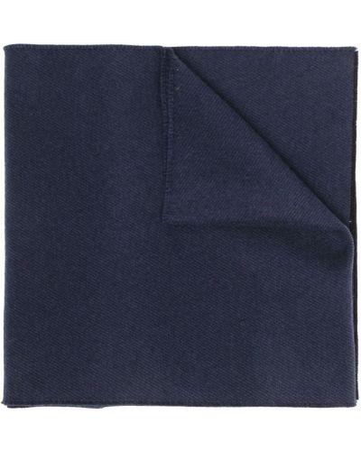 Синий шарф однотонный Givenchy