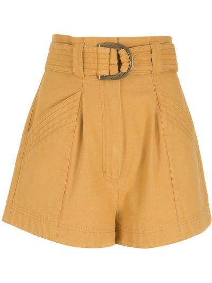 Желтые хлопковые шорты Nk