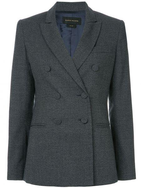 Синий пиджак Karen Walker