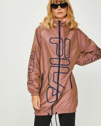 Куртка с капюшоном облегченная с карманами Fila