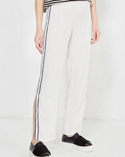 Белые брюки повседневные Tantra