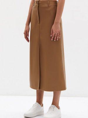 Бежевая зимняя юбка Lime