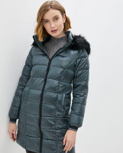 Бирюзовая утепленная куртка Zabaione