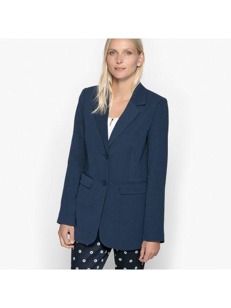 Классический пиджак приталенный на пуговицах La Redoute