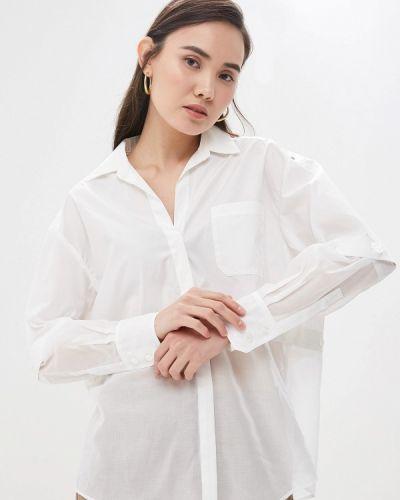 Рубашка с длинным рукавом белая Sportmax Code