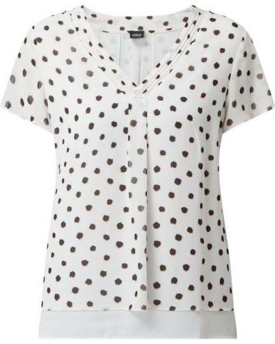 Bluzka z dekoltem w serek - biała S.oliver Black Label