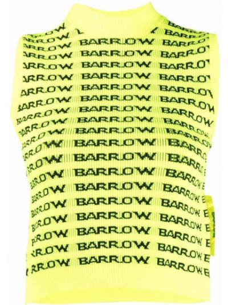 Żółta kamizelka bez rękawów z nylonu Barrow
