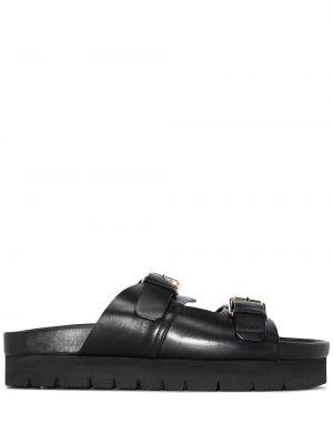 Кожаные сандалии - черные Grenson