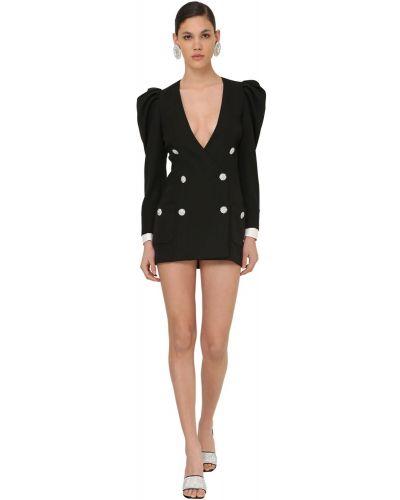 Платье на пуговицах двубортное Alessandra Rich