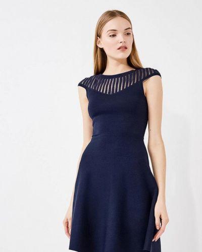 Синее платье весеннее French Connection