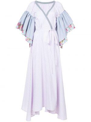 Хлопковое платье макси - белое Natasha Zinko