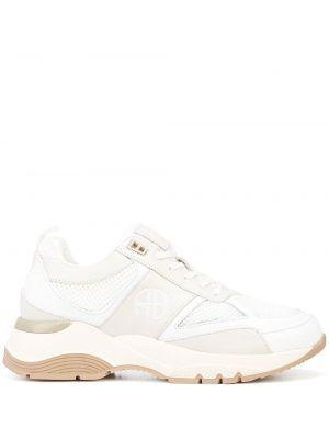 Белые массивные кроссовки Anine Bing