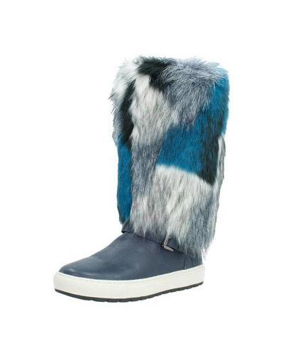 Niebieski śniegowce Geox
