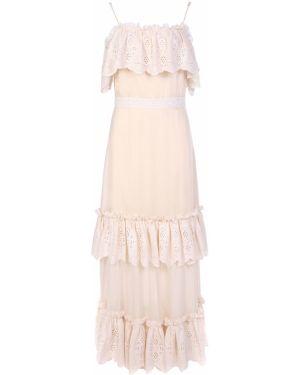 Хлопковое платье макси A La Russe