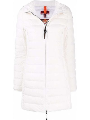 Белое пальто классическое Parajumpers