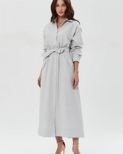 Серое платье Moru